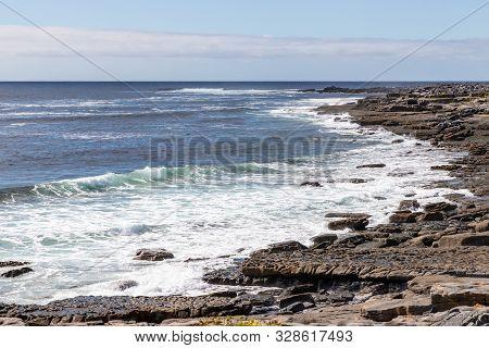 Rocky Beach In Inisheer Island