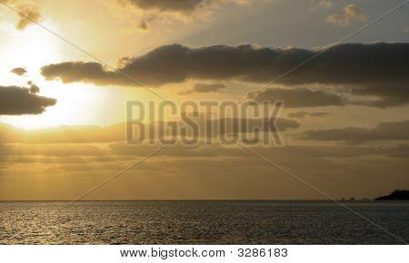 Sunset Over Toms Rocks