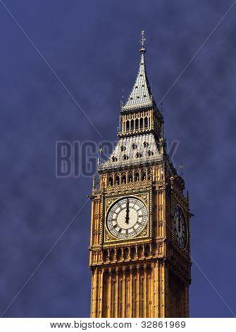 Clock's striking twelve