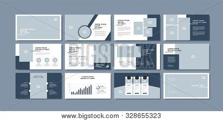 Minimal Slides Presentation Background Template. Travel Presentation Template.