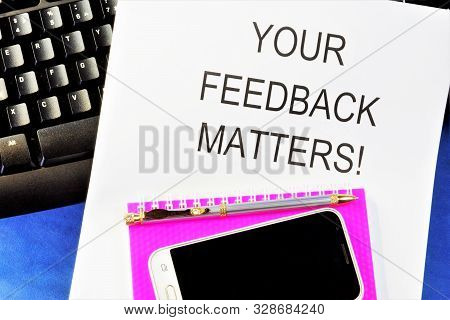 Feedback-feedback, Response, Response To An Action Or Event. Feedback Is A Tool For Personnel Manage