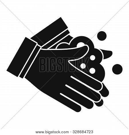 Hand Washing Icon. Simple Illustration Of Hand Washing Vector Icon For Web Design Isolated On White