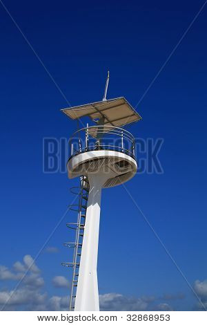 Modern lifeguard tower