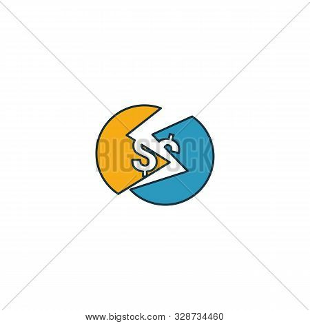 Underbanked Icon Set. Four Elements In Diferent Styles From Fintech Icons Collection. Creative Under