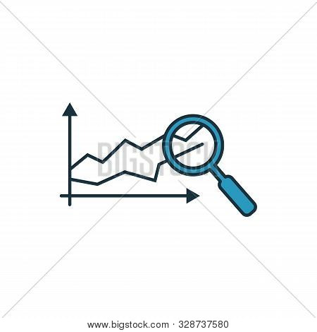 Predictive Analytics Icon Set. Four Elements In Diferent Styles From Industry 4.0 Icons Collection.