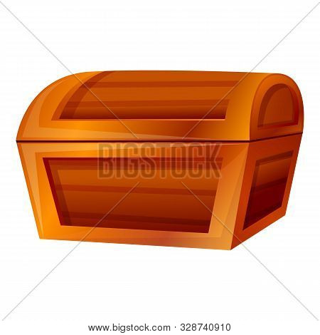 Dower Chest Icon. Cartoon Of Dower Chest Vector Icon For Web Design Isolated On White Background