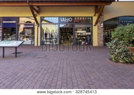 Valdichiana Outlet Village, Italy 09/17/2019: Liu Jo S.p.a. Is An Italian Clothing Company Founded I