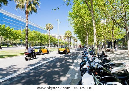 Avinguda Diagonal Broadest And Most Important Avenues