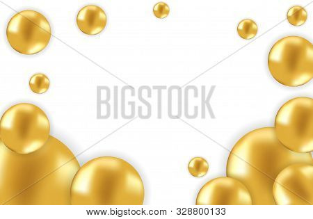 Gold Balloon. Celebration Balloon Sales Black Friday On A Grey Background. Balloons Black Friday. Wh
