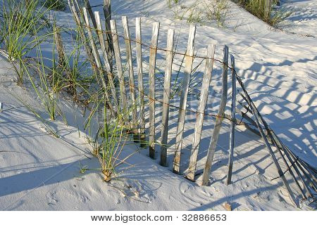 Fence in the Sand