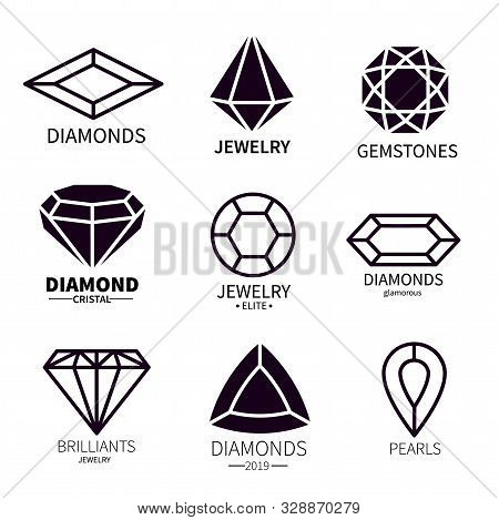 Diamond Logos. Jewels Diamonds Gems, Jewelry Diamantes Luxury Jewel Gemstones And Brilliant. Crystal