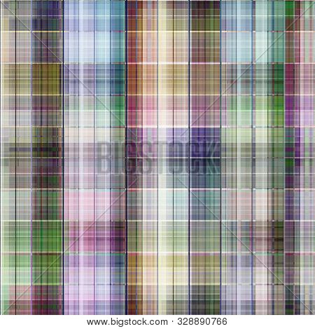 Seamless Checkered Plaid Tartan Pattern Background  Textile