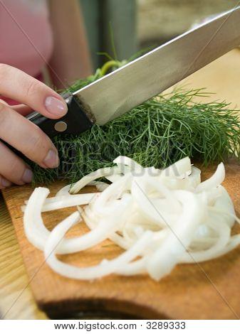Salad Cooking