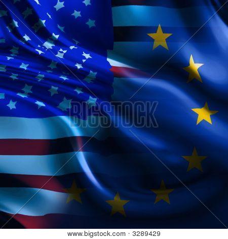 Bandeira da Europa/América