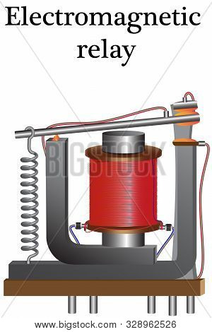 An Electromagnetic Relay Consists Of A Coil With A Current Conductor And A Core, Using A Magnetic Fi