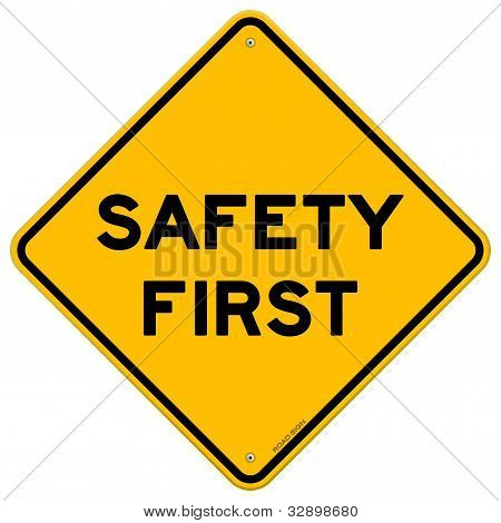 Safety First Symbol