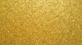 Gold Glitter Texture Background Sparkling Shiny Wrapping Paper For Christmas Holiday Seasonal Wallpa
