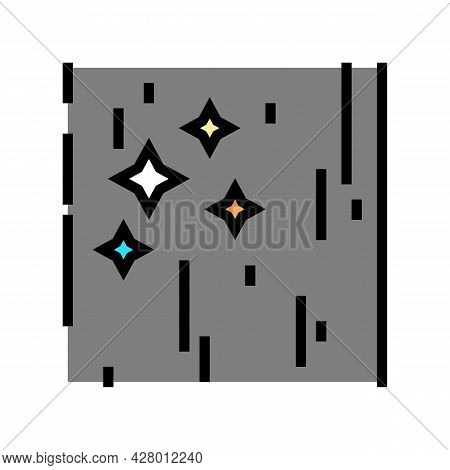 Polished Concrete Color Icon Vector. Polished Concrete Sign. Isolated Symbol Illustration