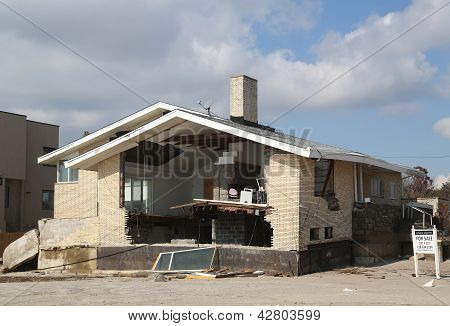 Hurricane Sandy - four months later - properties for sale