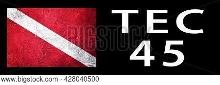 Tec 45, Diver Down Flag, Scuba Flag, Scuba Diving