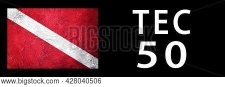 Tec 50, Diver Down Flag, Scuba Flag, Scuba Diving