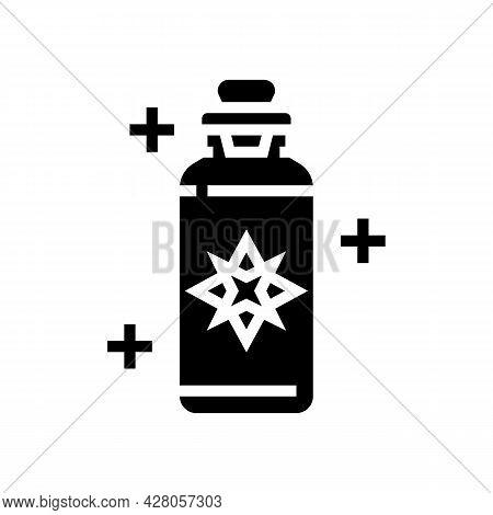 Potion Boho Glyph Icon Vector. Potion Boho Sign. Isolated Contour Symbol Black Illustration