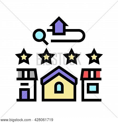 Convenience Arrangement Color Icon Vector. Convenience Arrangement Sign. Isolated Symbol Illustratio
