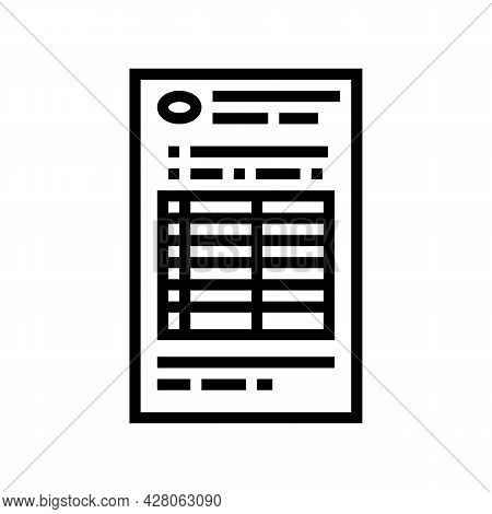 Behind Wheel Instruction Line Icon Vector. Behind Wheel Instruction Sign. Isolated Contour Symbol Bl