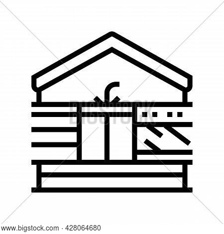 Home Comforts Line Icon Vector. Home Comforts Sign. Isolated Contour Symbol Black Illustration