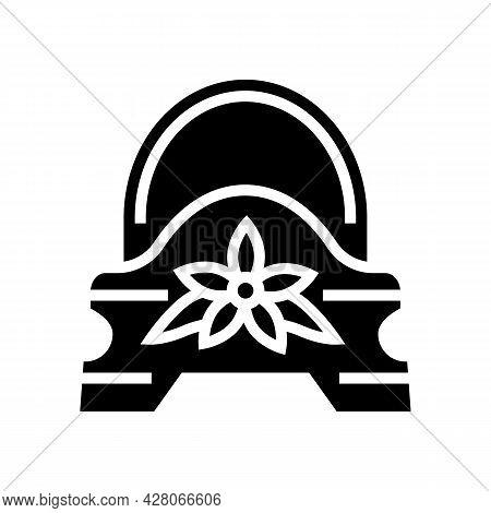 Pot Kindergarten Glyph Icon Vector. Pot Kindergarten Sign. Isolated Contour Symbol Black Illustratio