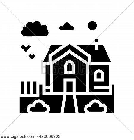 Urban Area Glyph Icon Vector. Urban Area Sign. Isolated Contour Symbol Black Illustration