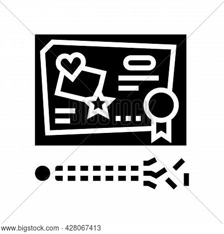 Craft Toys Glyph Icon Vector. Craft Toys Sign. Isolated Contour Symbol Black Illustration