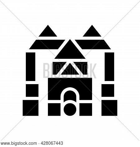 Imaginative Play Glyph Icon Vector. Imaginative Play Sign. Isolated Contour Symbol Black Illustratio