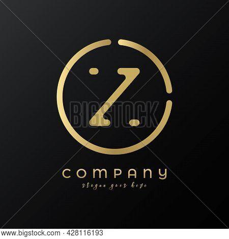 Technology Letter Z Logo Design Vector Template. Abstract Minimalist Typography Letter Z Logo Design