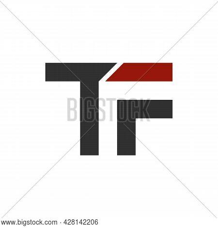 Illustration Vector Graphic Of Modern Tf Letter Logo