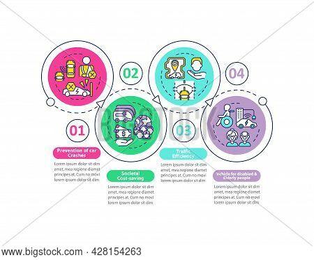 Ev Societal Protection Vector Infographic Template. Eco Efficiency Presentation Outline Design Eleme