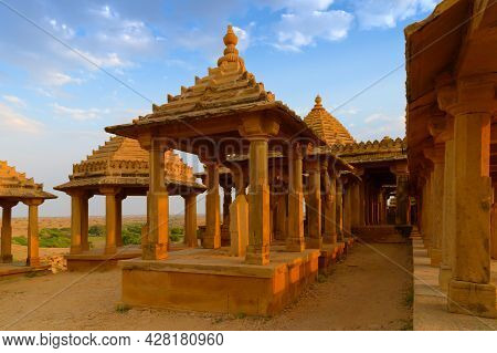 Bada Bagh Or Barabagh, Means Big Garden, Is A Garden Complex In Jaisalmer, Rajasthan, India, For Roy