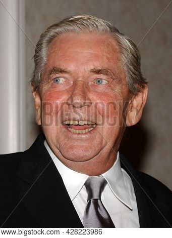 LOS ANGELES - AUG 19: Ralph Waite arrives for the 2nd Annual 'Runway For Life' Celebrity Fashion Show on August 19, 2003 in Beverly Hills, CA