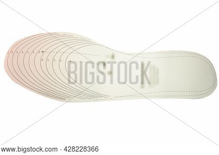 Size Templates For Cut-to-fit Insoles Of The Desired Size According To Pattern