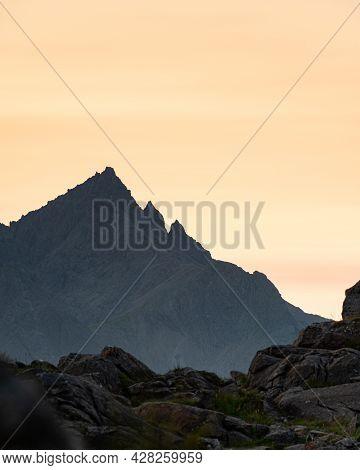 Pinnacle Ridge On Sgurr Nan Gillean