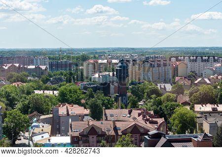 Russia, Zelenogradsk June 2021 Kranz Water Tower. The City Water Tower Was Built In Kranz In 1904. T