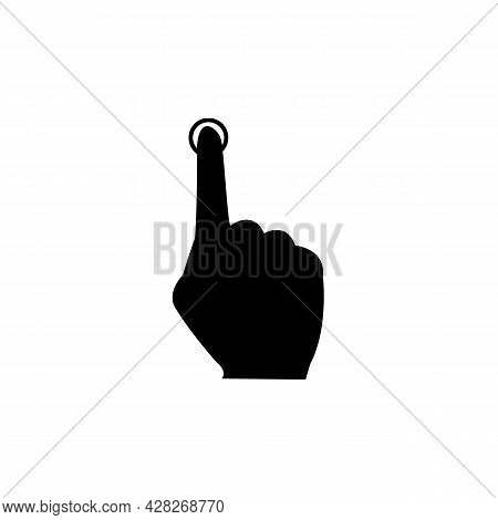 Hand Icon Isolated On White Background From Pilates Collection. Hand Icon Thin Line Outline Linear H