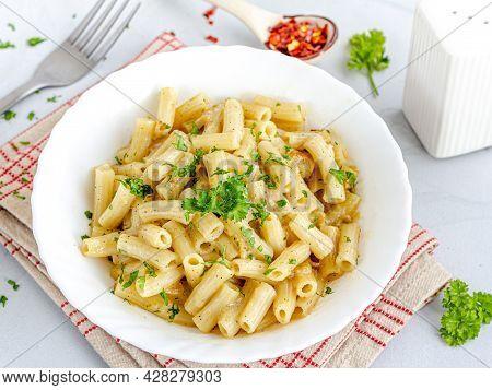Creamy Macaroni Pasta, Italian Food, Comfort Food, Kids' Food