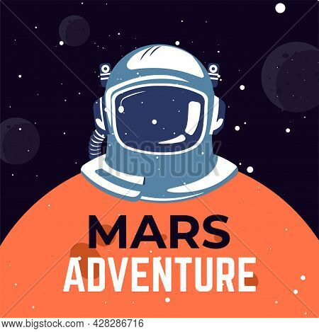 Mars Adventure Outer Space Exploration In Universe