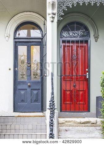 An image of terrace houses in Paddington Sydney