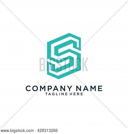 Initial Letter S Vector Logo Design Concept.