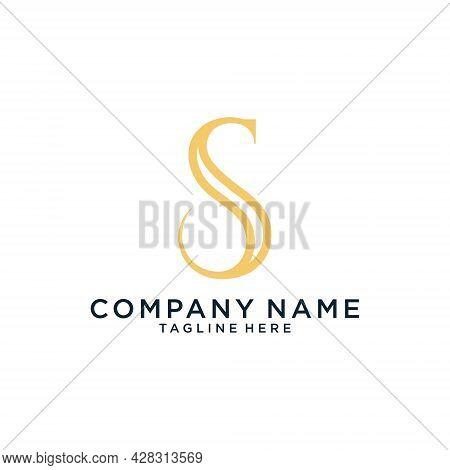 Initial Letter S Vector Logo Design Template.