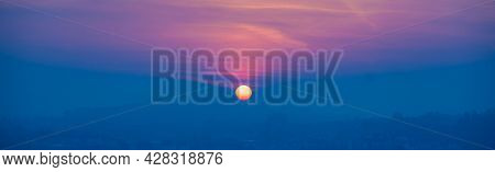 Sunset sky background Sunset over mediterranean sea Beautiful cloudscape over the sea, sunrise  sunset shot.