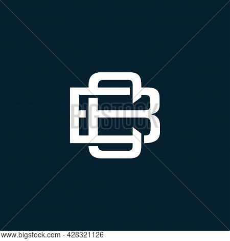 Initial Bc Or Cb Letter Logo Design Vector Template. Monogram And Creative Alphabet Bc Letters Icon