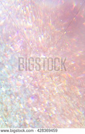 Pink hologram glittery background design